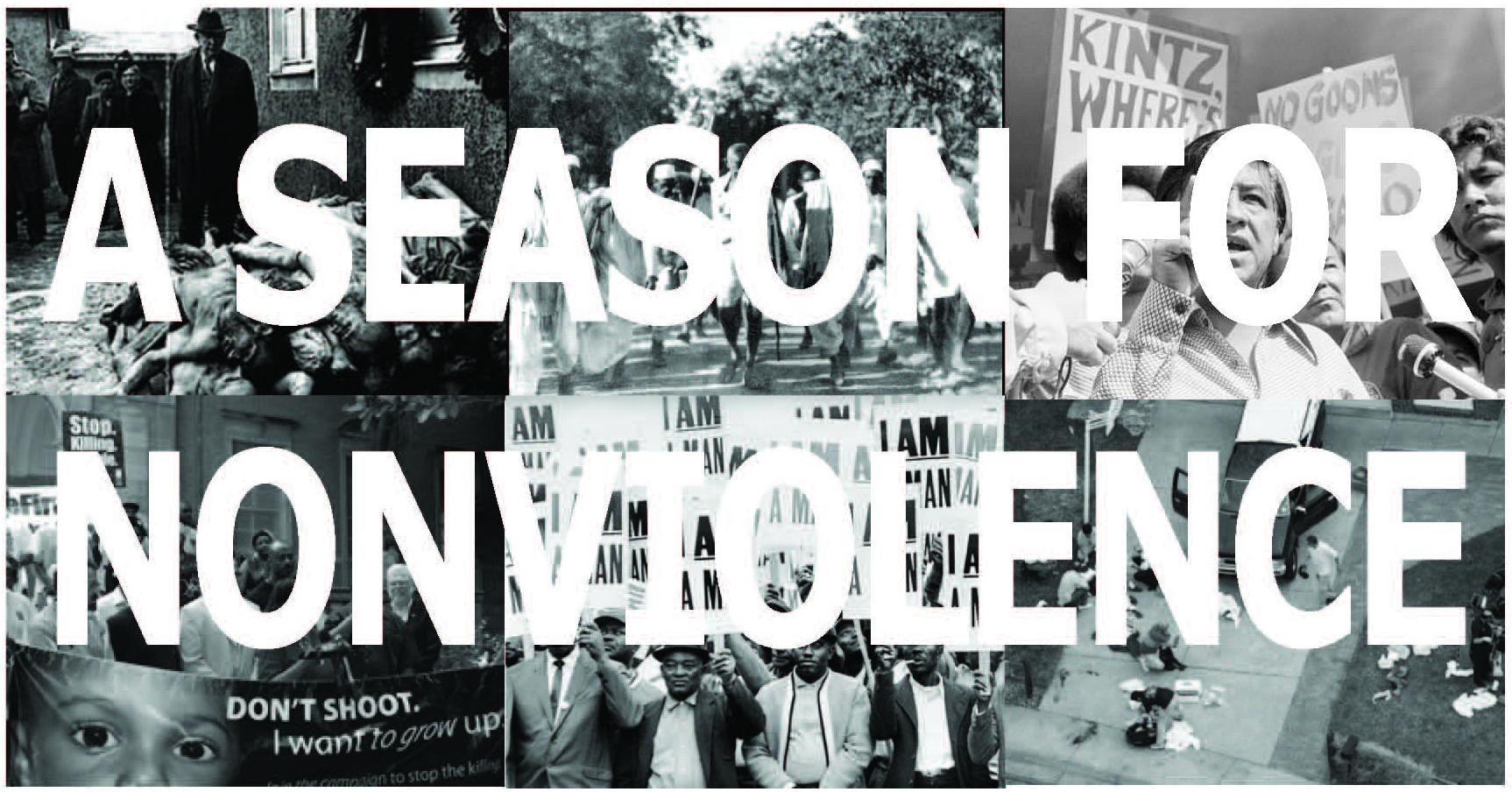A Season for Nonviolence collage