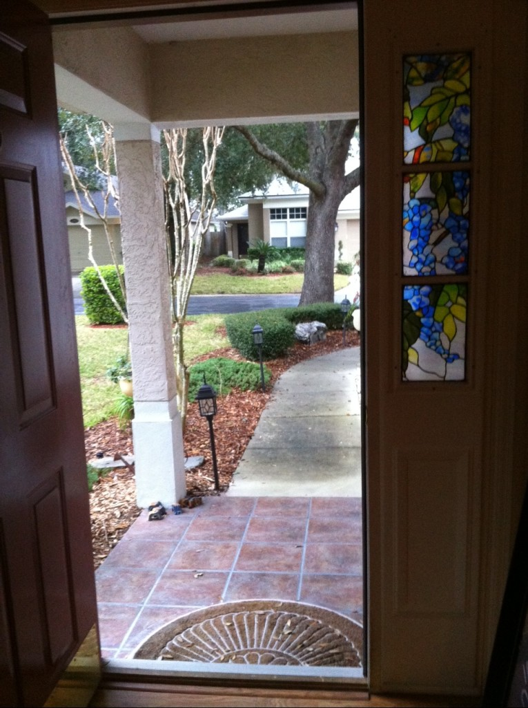 My Front Door - First Day